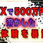 FXで500万円を溶かした実体験を暴露!