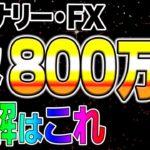 バイナリー・FX 年収800万円 正解はこれ!!