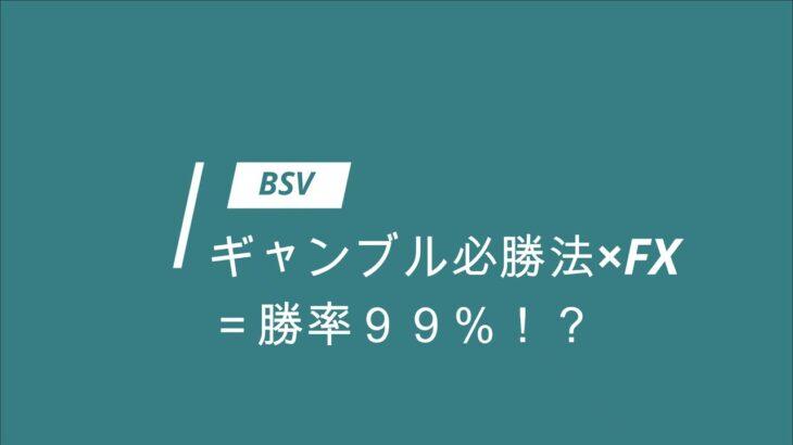 BSV① ギャンブル理論×FXで必勝!?【仮想通貨で億り人】