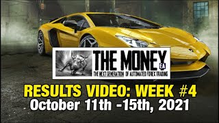"""""""The Money"""" EA: Weekly Stats, Oct. 11th-15th, 2021. The #1 Forex Expert Advisor / trading robot."""